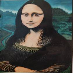 mona lisa, 24 x 36 inch, j.k  chhatwal,figurative paintings,modern art paintings,paintings for dining room,paintings for living room,paintings for bedroom,paintings for office,paintings for bathroom,canvas,acrylic color,24x36inch,GAL0537818474
