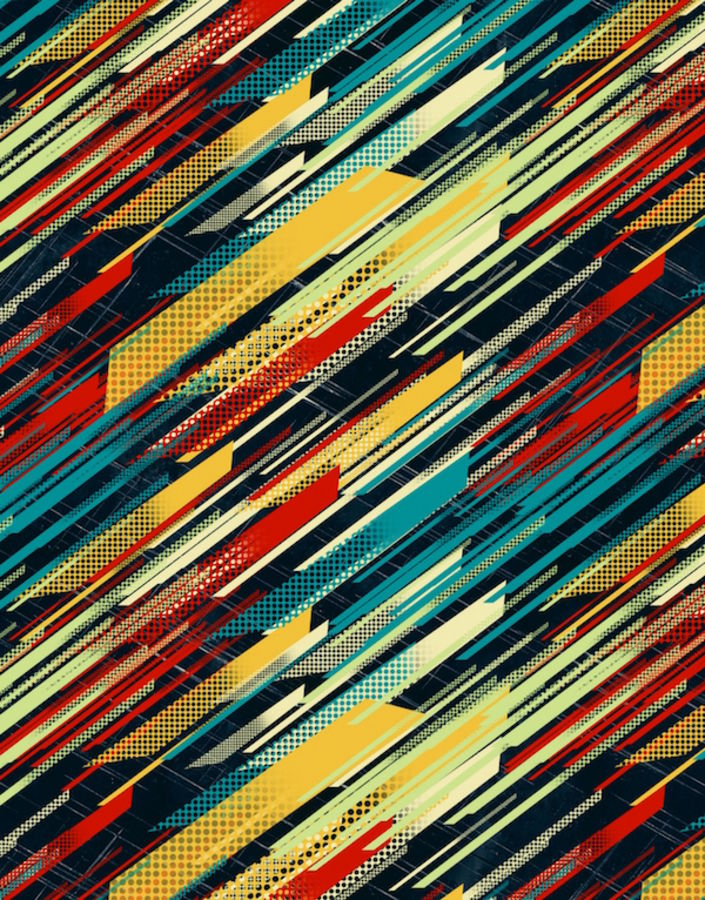 Mix line color abstract
