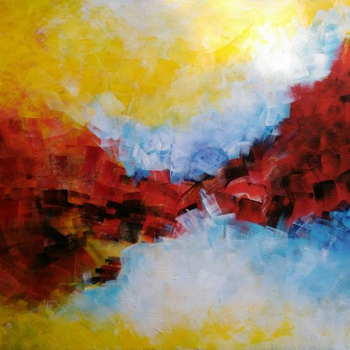 beutiful mind, 30 x 24 inch, debaditya sarkar,abstract paintings,paintings for living room,canvas,acrylic color,30x24inch,GAL03961878