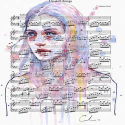 Love in music art print by Gallerist