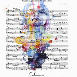 Mix color music art print by Gallerist