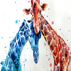 Love of animal art print by Gallerist