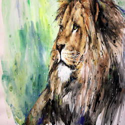 King of forest art print by Gallerist