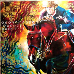 horse , 49 x 37 inch, aatif sayed,paintings,modern art paintings,pop art paintings,portraiture,animal paintings,horse paintings,paintings for living room,paintings for office,paintings for hotel,paintings for school,paintings for hospital,canvas,acrylic color,49x37inch,GAL0929318994