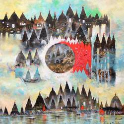 final destination , 30 x 34 inch, sandeep rawal ,abstract paintings,cityscape paintings,landscape paintings,contemporary paintings,paintings for dining room,paintings for living room,paintings for office,paintings for kids room,paintings for hotel,paintings for kitchen,paintings for school,paintings for hospital,canvas,acrylic color,30x34inch,GAL0251119063