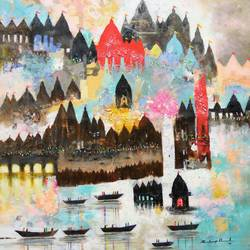 first destination, 30 x 34 inch, sandeep rawal ,abstract paintings,cityscape paintings,landscape paintings,religious paintings,contemporary paintings,lord shiva paintings,paintings for dining room,paintings for living room,paintings for office,paintings for kids room,paintings for hotel,paintings for kitchen,paintings for school,paintings for hospital,canvas,acrylic color,30x34inch,GAL0251119064