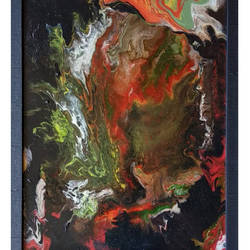 happy accidents - fluid art , 13 x 17 inch, sneha rao,paintings,abstract paintings,paintings for dining room,paintings for living room,paintings for bedroom,paintings for office,paintings for kids room,paintings for hotel,acrylic glass,acrylic color,glass,13x17inch,GAL0893819138