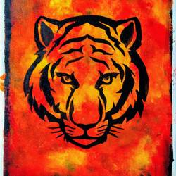 royalty, 14 x 18 inch, poorti kolge-badia,paintings,wildlife paintings,animal paintings,paintings for dining room,paintings for living room,paintings for bedroom,paintings for office,paintings for bathroom,paintings for hotel,canvas,acrylic color,14x18inch,GAL0911619150