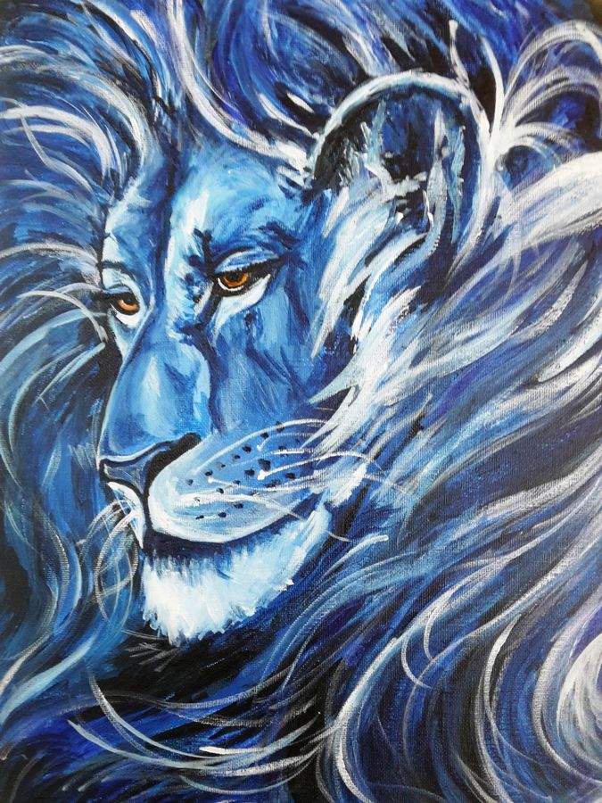 authority, 12 x 16 inch, amaey parekh,wildlife paintings,paintings for office,canvas,acrylic color,12x16inch,GAL075194