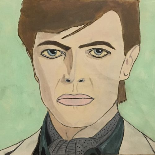 david bowie , 10 x 7 inch, shradha mohan,paintings,portraiture,paintings for living room,paintings for office,paintings for kids room,paintings for hotel,paintings for school,paintings for hospital,paintings for living room,paintings for office,paintings for kids room,paintings for hotel,paintings for school,paintings for hospital,thick paper,watercolor,10x7inch,GAL0972619499