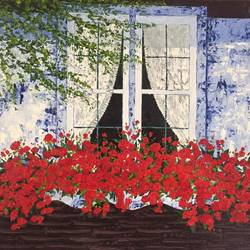 bewitched, 60 x 48 inch, shilpi singh patel,paintings,flower paintings,landscape paintings,nature paintings,paintings for dining room,paintings for living room,paintings for bedroom,paintings for office,paintings for hotel,paintings for hospital,canvas,oil,60x48inch,GAL045519516Nature,environment,Beauty,scenery,greenery