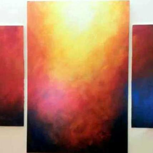 colours of life, 40 x 24 inch, reshma  iqbal,abstract paintings,paintings for living room,canvas,acrylic color,40x24inch,GAL07621952