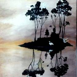 nature, 12 x 18 inch, rohan yadav,paintings,nature paintings,thick paper,watercolor,12x18inch,GAL0974219666Nature,environment,Beauty,scenery,greenery