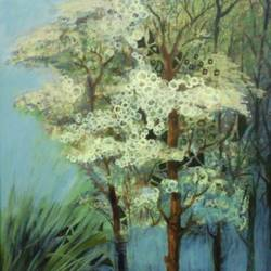 landscape -2 , 20 x 30 inch, devirani dasgupta,landscape paintings,paintings for dining room,paintings for living room,paintings for bedroom,paintings for office,canvas,acrylic color,20x30inch,GAL03971982