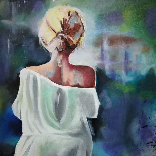 an unsung warrior, 18 x 24 inch, gagandeep kaur,paintings,abstract paintings,figurative paintings,modern art paintings,paintings for living room,paintings for bedroom,paintings for office,paintings for hotel,paintings for living room,paintings for bedroom,paintings for office,paintings for hotel,canvas board,acrylic color,fabric,18x24inch,GAL0994019864