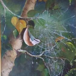 internet, 16 x 20 inch, monalisa sarkar mitra,nature paintings,impressionist paintings,canvas,acrylic color,16x20inch,GAL0918719865Nature,environment,Beauty,scenery,greenery