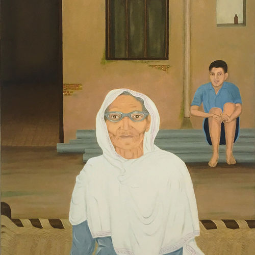 dadi maa, 24 x 36 inch, rajesh sharma,paintings,portrait paintings,paintings for dining room,paintings for living room,paintings for bedroom,paintings for office,paintings for kids room,paintings for hotel,paintings for school,paintings for hospital,paintings for dining room,paintings for living room,paintings for bedroom,paintings for office,paintings for kids room,paintings for hotel,paintings for school,paintings for hospital,canvas,oil,24x36inch,GAL050819889