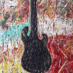 musical soul, 30 x 26 inch, deb roy,paintings,modern art paintings,canvas,acrylic color,30x26inch,GAL0698119920