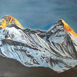 dhauladhar peaks, 17 x 12 inch, jugnu bakshi,paintings,landscape paintings,nature paintings,paintings for dining room,paintings for living room,paintings for bedroom,paintings for office,paintings for hotel,paintings for school,paintings for hospital,paintings for dining room,paintings for living room,paintings for bedroom,paintings for office,paintings for hotel,paintings for school,paintings for hospital,oil sheet,oil,17x12inch,GAL0969320046Nature,environment,Beauty,scenery,greenery