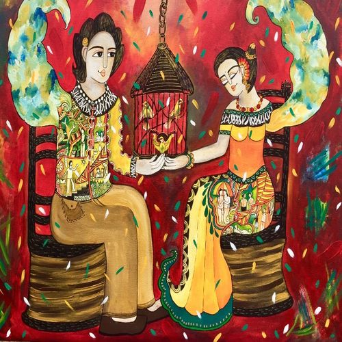 letting freedom breath, 48 x 38 inch, nandini verma,paintings,figurative paintings,love paintings,paintings for living room,paintings for bedroom,paintings for hotel,canvas,acrylic color,48x38inch,GAL0273720284heart,family,caring,happiness,forever,happy,trust,passion,romance,sweet,kiss,love,hugs,warm,fun,kisses,joy,friendship,marriage,chocolate,husband,wife,forever,caring,couple,sweetheart