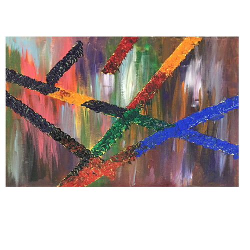 abstract painting, 18 x 14 inch, pooja lokhande,paintings,abstract paintings,paintings for dining room,paintings for living room,paintings for bedroom,paintings for office,paintings for hospital,paintings for dining room,paintings for living room,paintings for bedroom,paintings for office,paintings for hospital,canvas,acrylic color,18x14inch,GAL0420520295