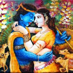 lord krishna, 24 x 18 inch, anirban seth,figurative paintings,photorealism,realism paintings,radha krishna paintings,contemporary paintings,realistic paintings,love paintings,paintings for dining room,paintings for living room,paintings for bedroom,paintings for office,paintings for kids room,paintings for hotel,paintings for kitchen,paintings for school,paintings for hospital,canvas board,acrylic color,24x18inch,love love, couple, radha, Krishna, lord, love, blue, religious,romance,,GAL01024520309heart,family,caring,happiness,forever,happy,trust,passion,romance,sweet,kiss,love,hugs,warm,fun,kisses,joy,friendship,marriage,chocolate,husband,wife,forever,caring,couple,sweetheart,,krishna,Lord krishna,krushna,radha krushna,flute,peacock feather,melody,peace,religious,god,flower,leaves,cows