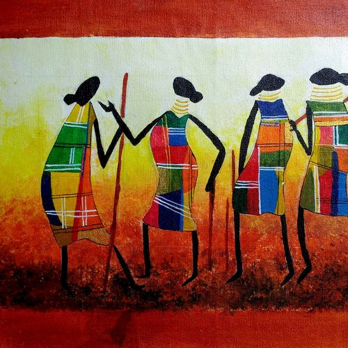 beauty of warli art, 16 x 12 inch, ayushi jain,paintings,wildlife paintings,figurative paintings,modern art paintings,nature paintings,art deco paintings,illustration paintings,street art,warli paintings,paintings for dining room,paintings for living room,paintings for bedroom,paintings for office,paintings for bathroom,paintings for kids room,paintings for hotel,paintings for kitchen,paintings for school,paintings for hospital,canvas,acrylic color,16x12inch,GAL0940820438Nature,environment,Beauty,scenery,greenery