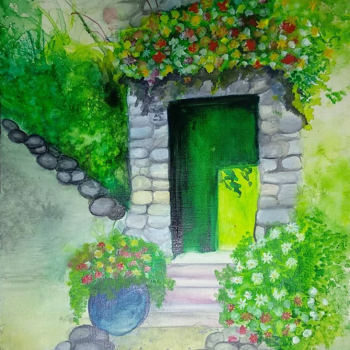 watercolour painting , 16 x 12 inch, nidhi  agrawal,paintings,flower paintings,landscape paintings,nature paintings,art deco paintings,contemporary paintings,paintings for dining room,paintings for living room,paintings for office,paintings for bathroom,paintings for hotel,paintings for kitchen,paintings for school,paintings for hospital,renaissance watercolor paper,mixed media,natural color,16x12inch,GAL0932620542Nature,environment,Beauty,scenery,greenery