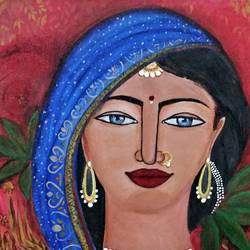 village woman, 16 x 12 inch, khushbu rangari,paintings,figurative paintings,folk art paintings,portrait paintings,paintings for dining room,paintings for living room,paintings for bedroom,paintings for office,paintings for bathroom,paintings for kids room,paintings for hotel,paintings for kitchen,paintings for school,paintings for hospital,paintings for dining room,paintings for living room,paintings for bedroom,paintings for office,paintings for bathroom,paintings for kids room,paintings for hotel,paintings for kitchen,paintings for school,paintings for hospital,canvas board,acrylic color,16x12inch,GAL01043020589