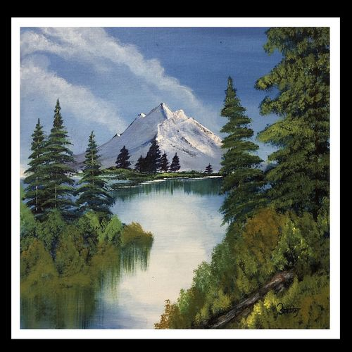 mountain, 20 x 16 inch, anamika bhong,paintings,nature paintings,canvas board,acrylic color,20x16inch,GAL01052720596Nature,environment,Beauty,scenery,greenery