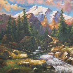 natures love 3, 36 x 24 inch, achal  art studio,paintings,landscape paintings,paintings for living room,canvas,acrylic color,36x24inch,GAL0991220623