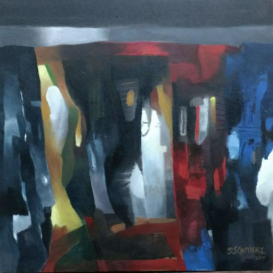 untitled, 24 x 24 inch, d.s. chougale,paintings,abstract paintings,paintings for living room,paintings for office,paintings for hotel,paintings for living room,paintings for office,paintings for hotel,canvas,acrylic color,24x24inch,GAL032020641