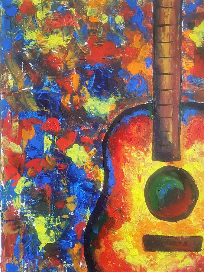 jazz music (finger painting), 12 x 17 inch, kaveri kangkana  saikia,paintings,abstract paintings,paintings for dining room,paintings for living room,paintings for bedroom,paintings for office,paintings for bathroom,paintings for kids room,paintings for hotel,paintings for kitchen,paintings for school,paintings for hospital,paintings for dining room,paintings for living room,paintings for bedroom,paintings for office,paintings for bathroom,paintings for kids room,paintings for hotel,paintings for kitchen,paintings for school,paintings for hospital,drawing paper,acrylic color,12x17inch,GAL0930520700