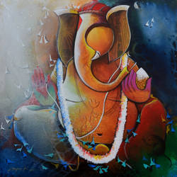 ganesha, 30 x 30 inch, anupam  pal,abstract paintings,ganesha paintings,paintings for dining room,paintings for living room,paintings for bedroom,paintings for office,paintings for bathroom,paintings for kids room,paintings for hotel,paintings for kitchen,paintings for school,paintings for hospital,paintings for dining room,paintings for living room,paintings for bedroom,paintings for office,paintings for bathroom,paintings for kids room,paintings for hotel,paintings for kitchen,paintings for school,paintings for hospital,canvas,acrylic color,ceramic work,charcoal,enamel color,fabric,ink color,instant batik,mixed media,natural color,oil,pastel color,pen color,pencil color,photo ink,poster color,watercolor,ball point pen,graphite pencil,coffee,sand,glass,plastic,wood cut,30x30inch,GAL08220726,vinayak,ekadanta,ganpati,lambodar,peace,devotion,religious,lord ganesha,lordganpati,ganpati,ganesha,lord ganesh,elephant god,religious,ganpati bappa morya,mouse,mushakraj,ladoo,sweets,ganpati bappa morya,ganesh chaturthi,ganesh murti,elephant god,religious,lord ganesh,ganesha,om,hindu god,shiv parvati, putra,bhakti,blessings,aashirwad,pooja,puja,aarti,ekdant,vakratunda,lambodara,bhalchandra,gajanan,vinayak,prathamesh,vignesh,heramba,siddhivinayak,mahaganpati,omkar,mushak,mouse,ladoo,modak,