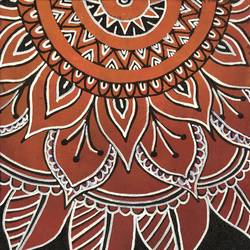 mandala, 12 x 16 inch, bharadwaj v,paintings,abstract paintings,canvas board,acrylic color,12x16inch,GAL01068020731