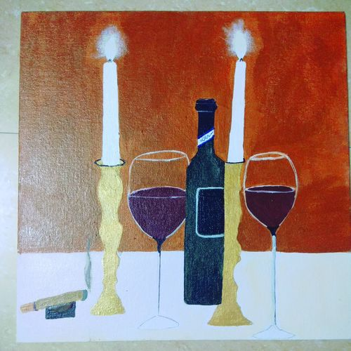 drinks beauty, 12 x 12 inch, apoorva rajashekara,paintings,still life paintings,paintings for dining room,paintings for living room,paintings for bedroom,paintings for bathroom,paintings for kids room,paintings for hotel,paintings for dining room,paintings for living room,paintings for bedroom,paintings for bathroom,paintings for kids room,paintings for hotel,canvas,acrylic color,12x12inch,GAL01074320813