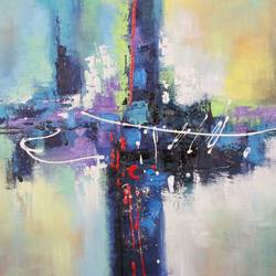 colors flow 5, 36 x 24 inch, achal  art studio,paintings,abstract paintings,paintings for living room,paintings for bedroom,paintings for hotel,canvas,acrylic color,36x24inch,GAL0991220866