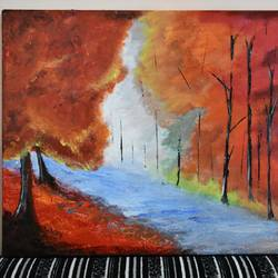 autumn forest, 16 x 12 inch, rakesh kumar,paintings,landscape paintings,portrait paintings,nature paintings,paintings for dining room,paintings for living room,paintings for bedroom,paintings for office,paintings for bathroom,paintings for kids room,paintings for hotel,paintings for kitchen,paintings for school,paintings for hospital,canvas,acrylic color,16x12inch,GAL01016621186Nature,environment,Beauty,scenery,greenery