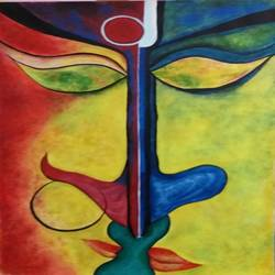 monermilon, 18 x 24 inch, bablu pramanik,paintings,modern art paintings,oil sheet,acrylic color,18x24inch,GAL0773821206