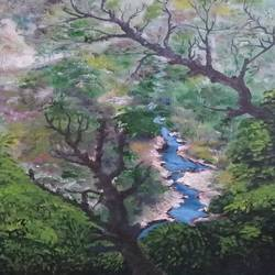 nature , 18 x 24 inch, bablu pramanik,paintings,nature paintings,oil sheet,oil,18x24inch,GAL0773821208Nature,environment,Beauty,scenery,greenery