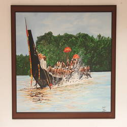 boat race, 40 x 30 inch, prajeesh  k,paintings,abstract paintings,water fountain paintings,paintings for dining room,paintings for living room,paintings for bedroom,paintings for office,paintings for kids room,paintings for hotel,paintings for school,paintings for hospital,canvas,acrylic color,40x30inch,GAL01115221272