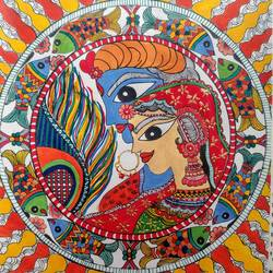 madhubani art radha krishna, 8 x 12 inch, asmita chatterjee,paintings,radha krishna paintings,paintings for dining room,paintings for living room,paintings for bedroom,paintings for office,paintings for hotel,paintings for kitchen,paintings for school,paintings for hospital,paintings for dining room,paintings for living room,paintings for bedroom,paintings for office,paintings for hotel,paintings for kitchen,paintings for school,paintings for hospital,thick paper,ink color,watercolor,ball point pen,8x12inch,Radhakrishna, love, Lord Krishna, Madhubani radhakrishna, Mix color Madhubani,couple, religious,GAL01118321291,radhakrishna,love,pece,lordkrishna,,lordradha,peace,flute,music,radha,krishna,devotion,couple,Madhubanikrishna