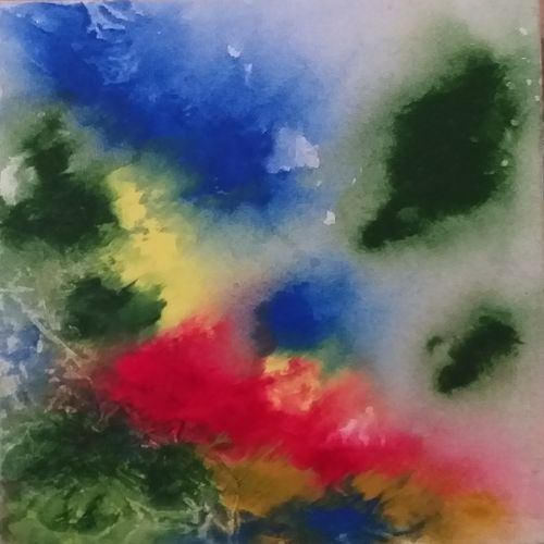 meaning less, 12 x 8 inch, bablu pramanik,paintings,abstract paintings,canvas,acrylic color,12x8inch,GAL0773821329