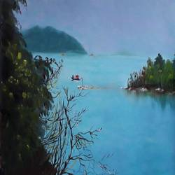 nature , 18 x 16 inch, bablu pramanik,paintings,nature paintings,oil sheet,oil,18x16inch,GAL0773821332Nature,environment,Beauty,scenery,greenery