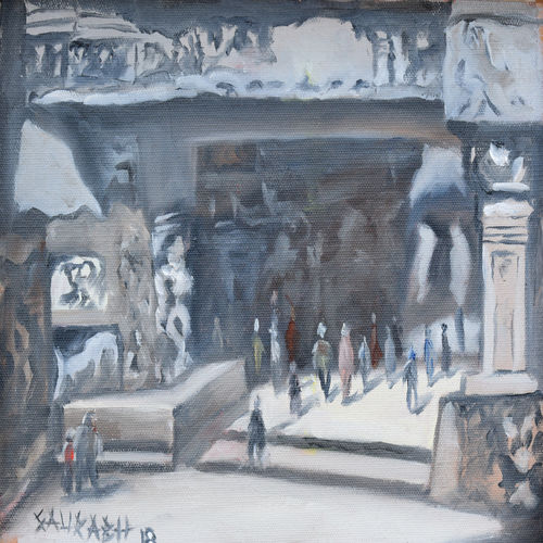 ellora caves, 10 x 8 inch, saurabh jathar,paintings,landscape paintings,nature paintings,realism paintings,surrealist paintings,paintings for living room,paintings for bedroom,paintings for office,paintings for hotel,paintings for school,paintings for hospital,paintings for living room,paintings for bedroom,paintings for office,paintings for hotel,paintings for school,paintings for hospital,canvas,oil,10x8inch,GAL0396421364Nature,environment,Beauty,scenery,greenery