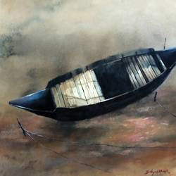 boat lefted, 26 x 18 inch, bidyut kanti majumdar,paintings,landscape paintings,nature paintings,impressionist paintings,realism paintings,realistic paintings,paintings for dining room,paintings for living room,paintings for bedroom,paintings for office,paintings for kids room,paintings for hotel,paintings for kitchen,paintings for school,paintings for hospital,paintings for dining room,paintings for living room,paintings for bedroom,paintings for office,paintings for kids room,paintings for hotel,paintings for kitchen,paintings for school,paintings for hospital,paper,watercolor,26x18inch,GAL0111021379Nature,environment,Beauty,scenery,greenery