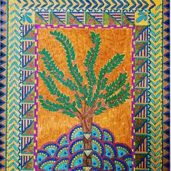 soul tree, 10 x 15 inch, yesha pabari,paintings,madhubani paintings,paintings for dining room,paintings for living room,paintings for bedroom,paintings for bathroom,paintings for kids room,paintings for hotel,paintings for kitchen,paintings for school,canson paper,pen color,10x15inch,GAL01105021458
