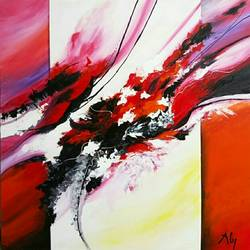 abstract0016, 30 x 30 inch, aly finearts,paintings,abstract paintings,canvas,acrylic color,30x30inch,GAL0713921517