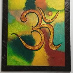 om, 12 x 16 inch, neha bansal,paintings,religious paintings,paintings for dining room,paintings for living room,paintings for office,paintings for kids room,paintings for hotel,paintings for school,paintings for hospital,paintings for dining room,paintings for living room,paintings for office,paintings for kids room,paintings for hotel,paintings for school,paintings for hospital,canvas,acrylic color,12x16inch,GAL0858721534