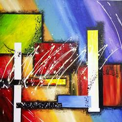 abstract0024, 32 x 22 inch, aly finearts,paintings,abstract paintings,canvas,acrylic color,32x22inch,GAL0713921575